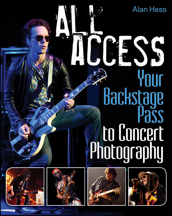 All Access. Your Backstage Pass to Concert Photography