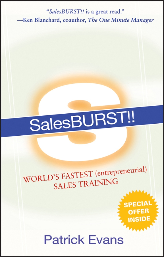 SalesBURST!!. World's Fastest (entrepreneurial) Sales Training