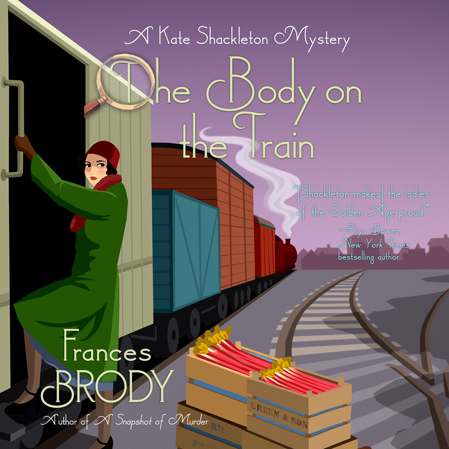 The Body on the Train - A Kate Shackleton Mystery, Book 11 (Unabridged)
