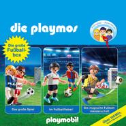 Die grosse Fussball-Box, Folgen 7, 51, 60: Das grosse Spiel \/ Im Fussballfieber \/ Die magische Fussballmeisterschaft - Das Original Playmobil Hörspiel (Hörspiel)