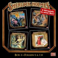 Sherlock Holmes - Die geheimen Fälle des Meisterdetektivs, Box 2: Folgen 5, 6, 7, 8