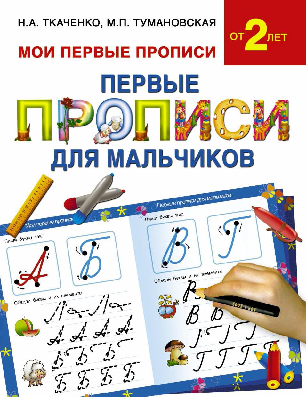 М. П. Тумановская Первые прописи для мальчиков т п воронина 365 5 узоров для развития мелкой моторики