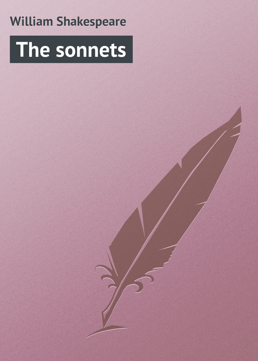 Уильям Шекспир The sonnets уильям шекспир the shakespeare story book