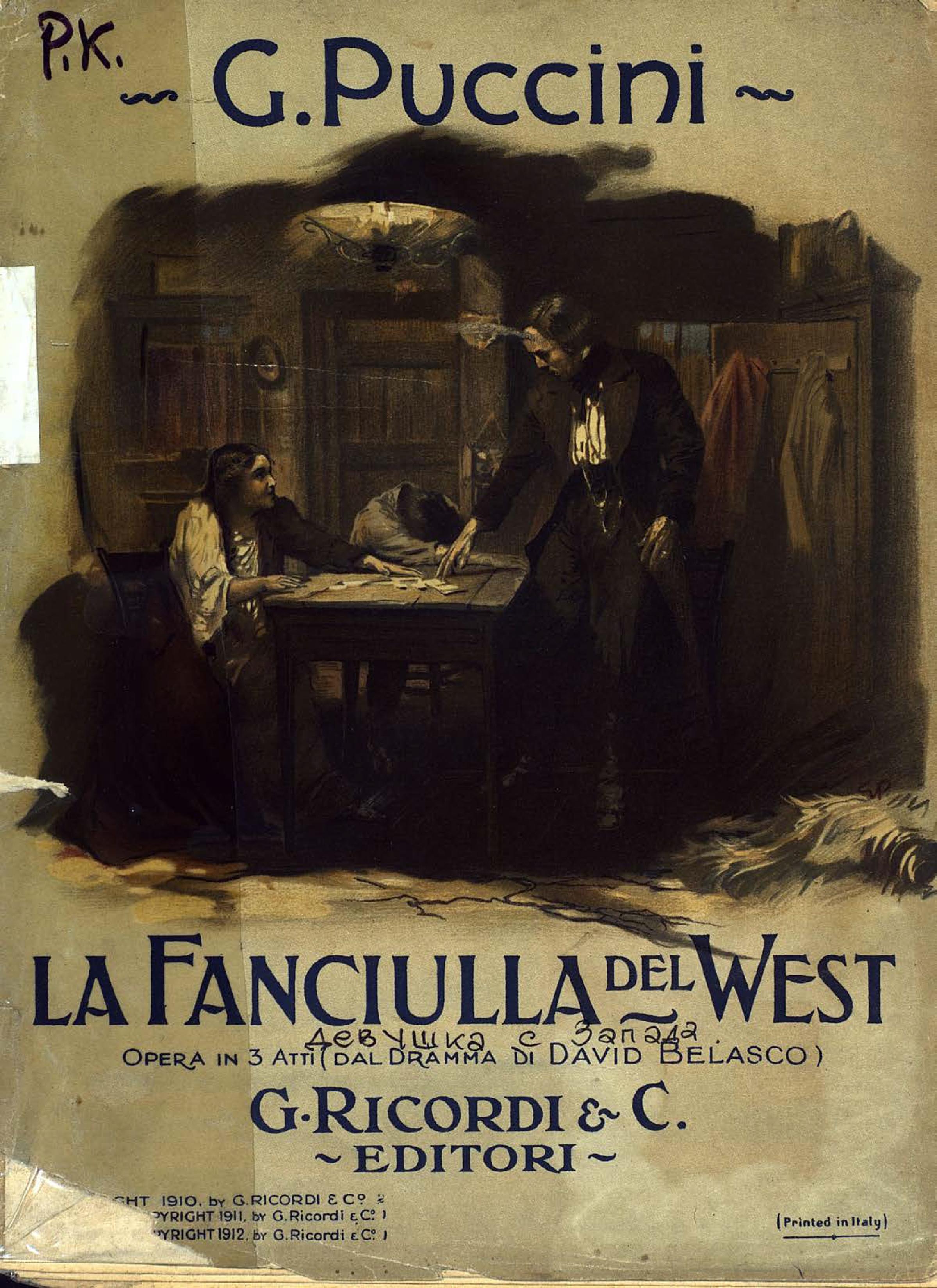 цена Джакомо Пуччини La Fanciulla del West онлайн в 2017 году