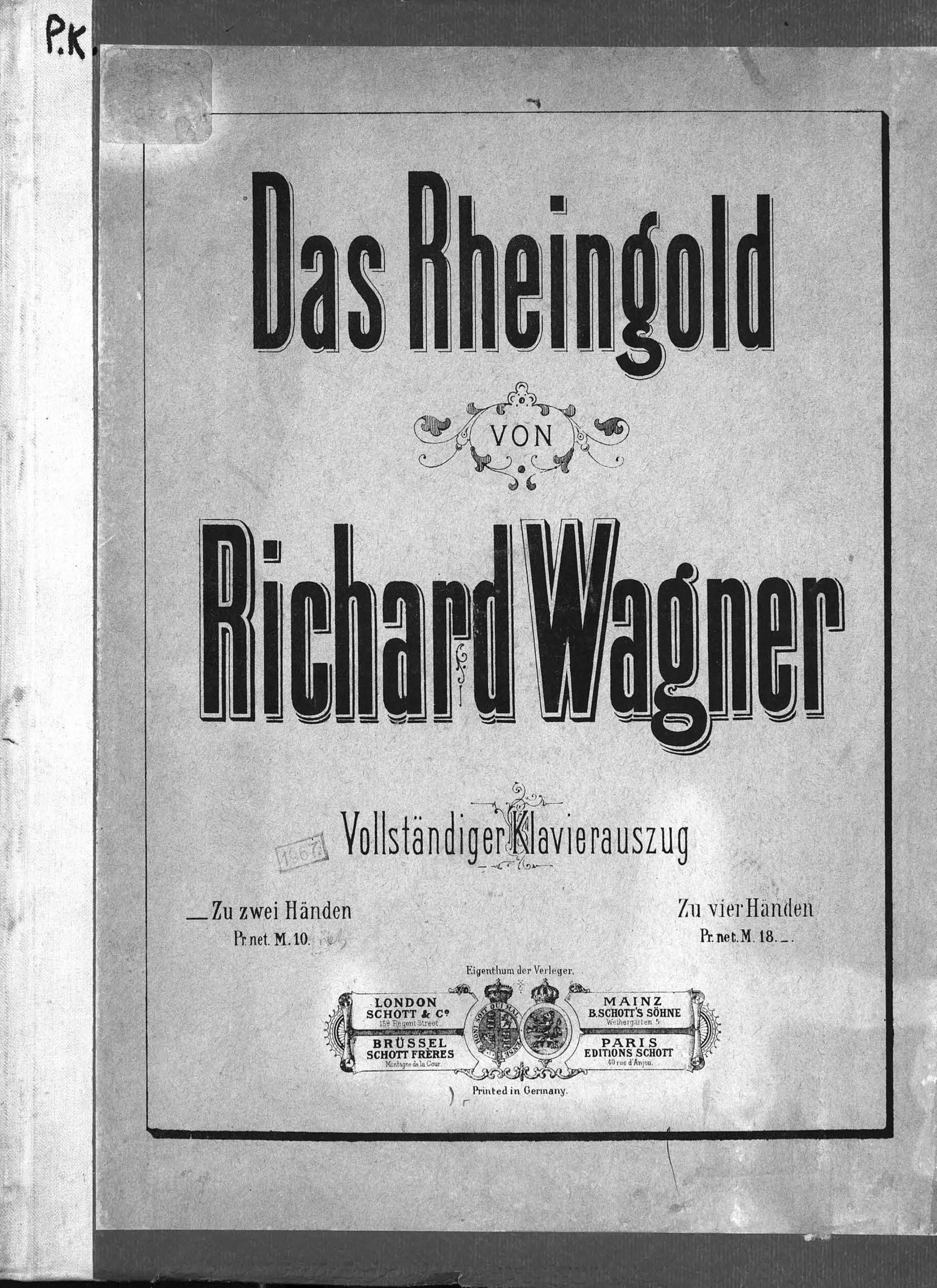 Рихард Вагнер Das Rheingold wagner james levine das rheingold blu ray