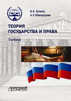 В. К. Цечоев Теория государства и права протасов в н теория государства и права учебник и практикум
