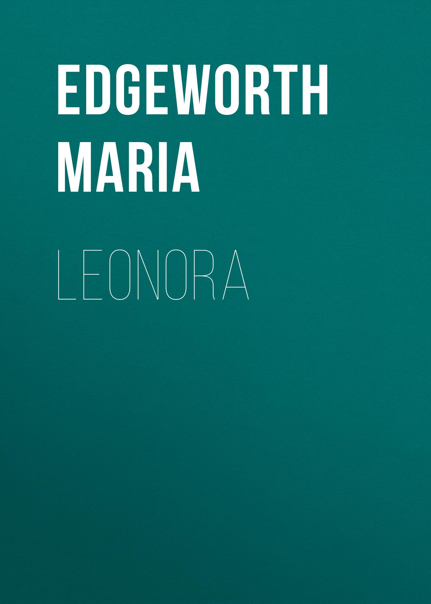 Edgeworth Maria Leonora miles edgeworth 4