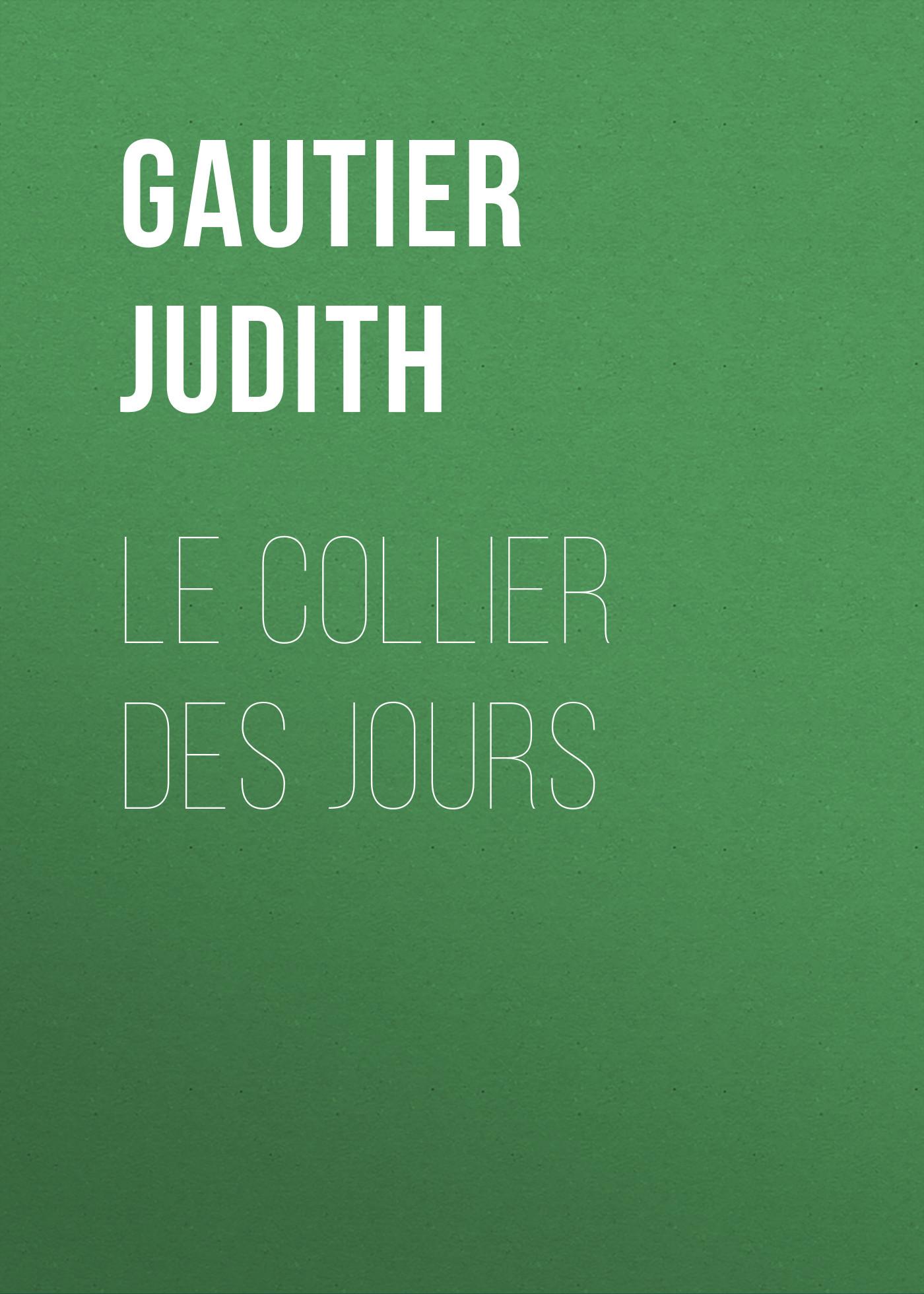 Gautier Judith Le collier des jours musicalarue 2018 pass 3 jours