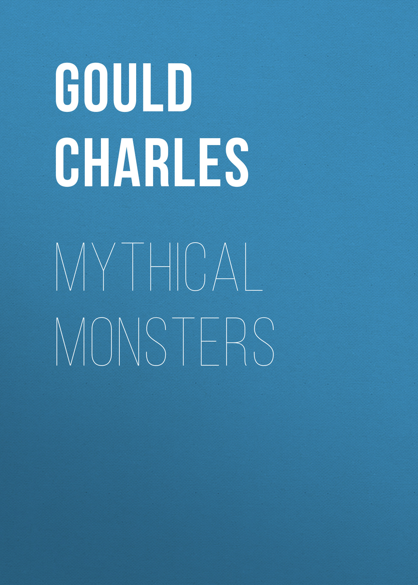 Gould Charles Mythical Monsters сумка charles