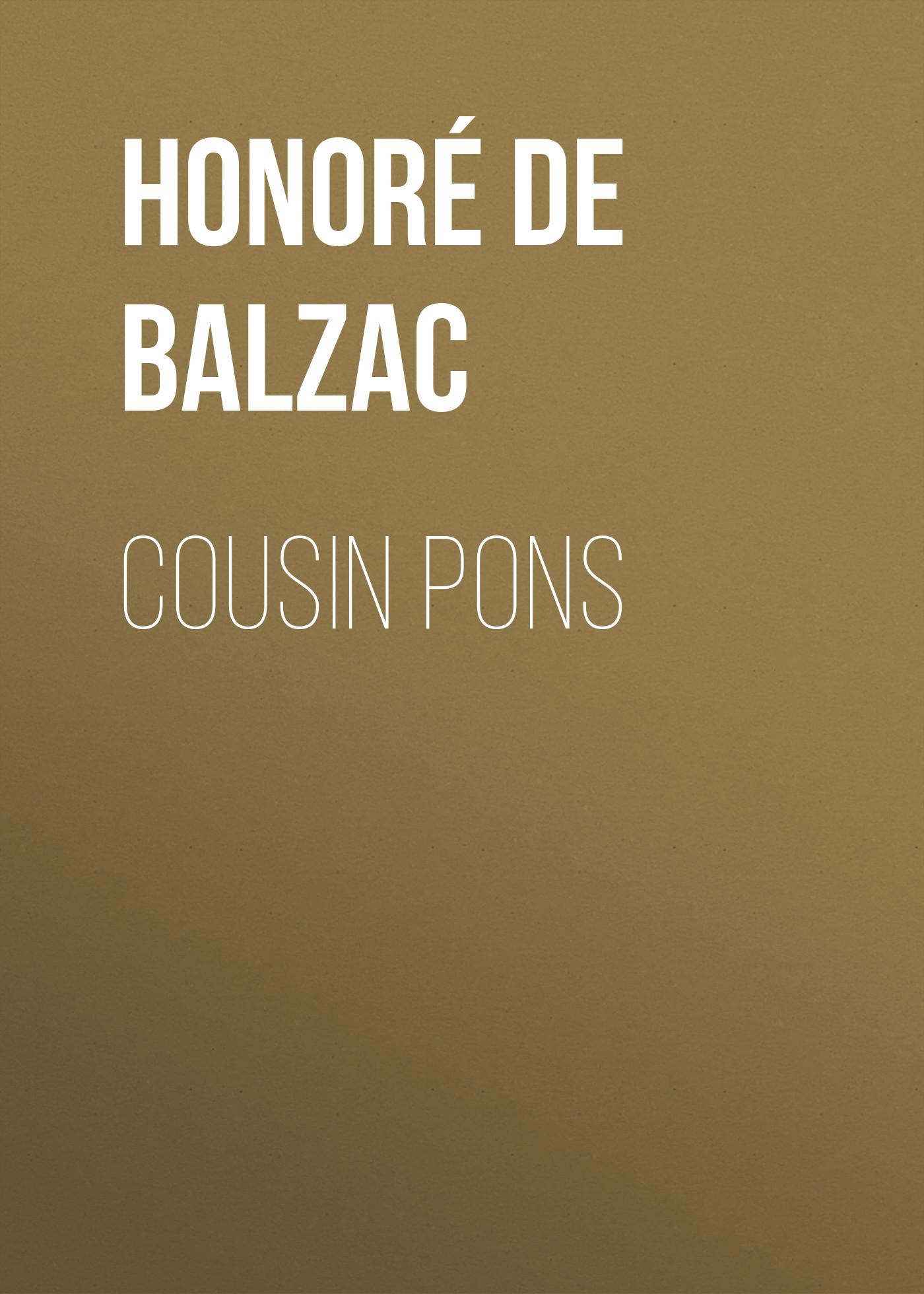 лучшая цена Оноре де Бальзак Cousin Pons