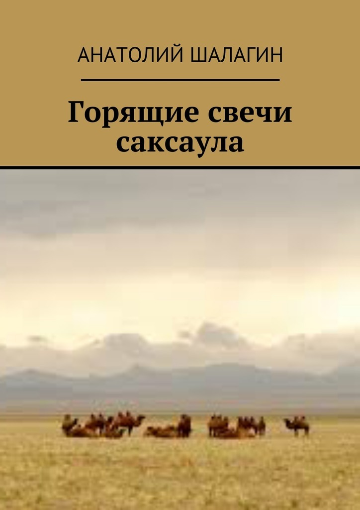 Анатолий Шалагин Горящие свечи саксаула анатолий шалагин караван уходит вчиру