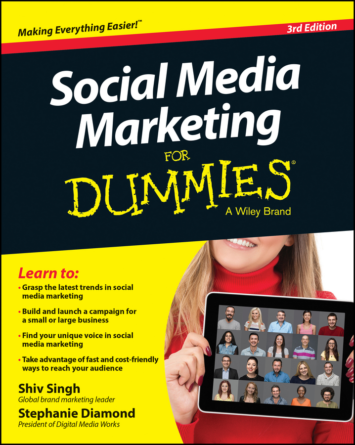 Shiv Singh Social Media Marketing For Dummies carolyn tate marketing your small business for dummies
