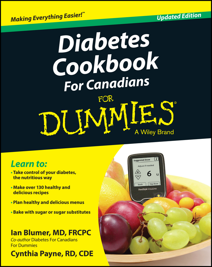 Ian Blumer Diabetes Cookbook For Canadians For Dummies showdown with diabetes