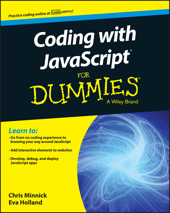 Chris Minnick Coding with JavaScript For Dummies электрическая вилка 63а 3p n e ip67 abb 2cma166798r1000