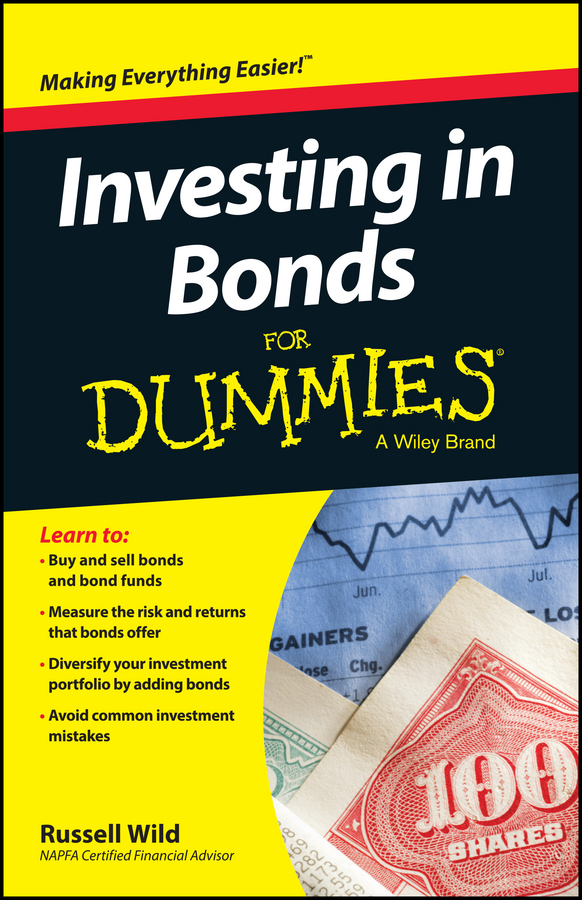 Russell Wild Investing in Bonds For Dummies e2275swj