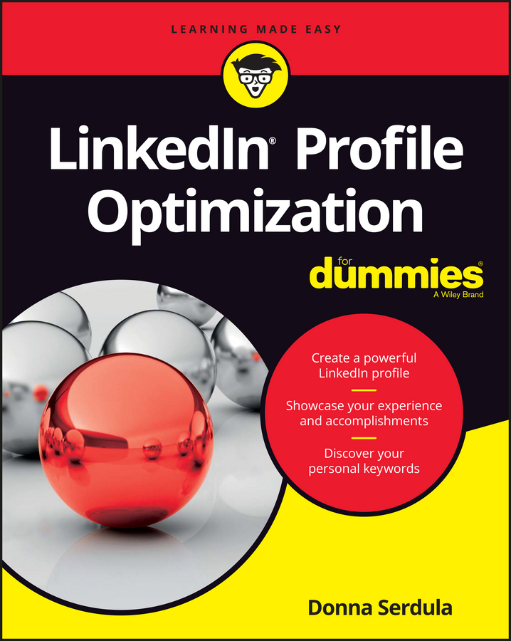 Donna Serdula LinkedIn Profile Optimization For Dummies donna serdula linkedin profile optimization for dummies