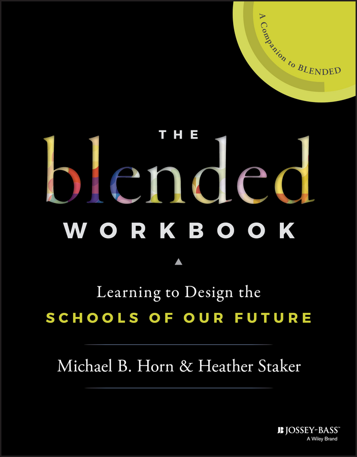 Фото - Heather Staker The Blended Workbook. Learning to Design the Schools of our Future concise colour block and circle pattern design men s slippers