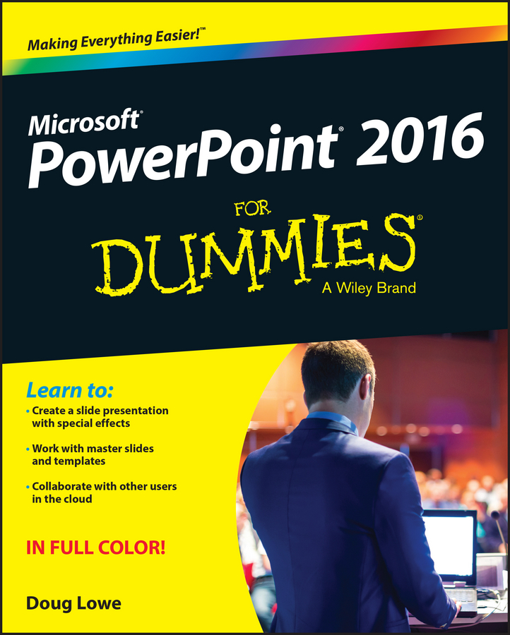 Doug Lowe PowerPoint 2016 For Dummies doug lowe javafx for dummies