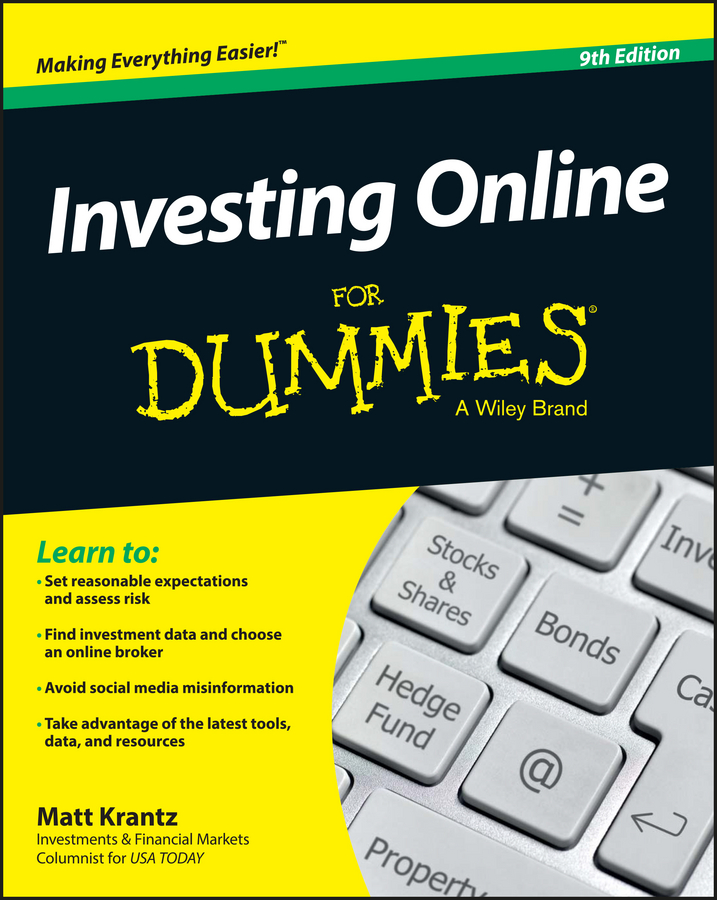 Matt Krantz Investing Online For Dummies finance and investments