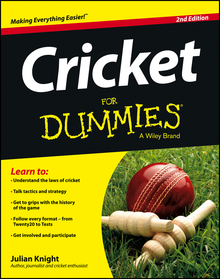 Julian Knight Cricket For Dummies cricket
