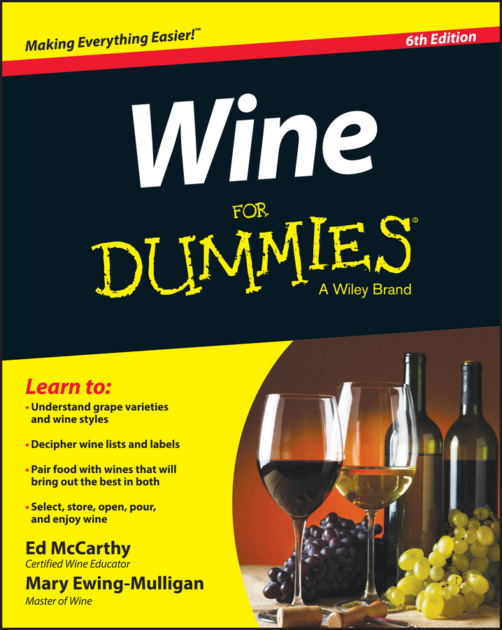 цены Mary Ewing-Mulligan Wine For Dummies
