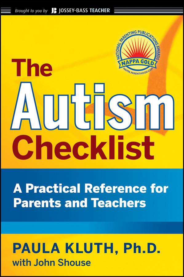 Paula Kluth The Autism Checklist. A Practical Reference for Parents and Teachers бра alfa parma 16940