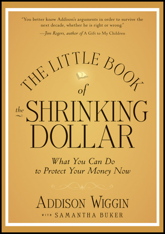 Addison Wiggin The Little Book of the Shrinking Dollar. What You Can Do to Protect Your Money Now weathering