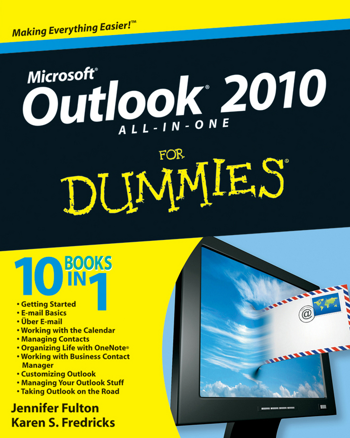 цена на Jennifer Fulton Outlook 2010 All-in-One For Dummies