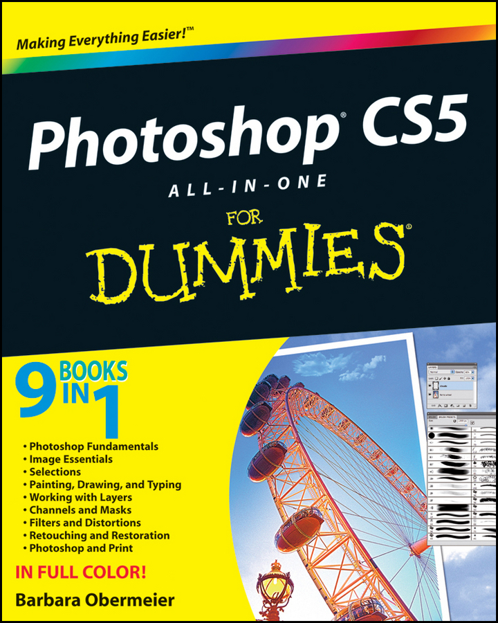Barbara Obermeier Photoshop CS5 All-in-One For Dummies photoshop® 7 all–in–one desk reference for dummies®