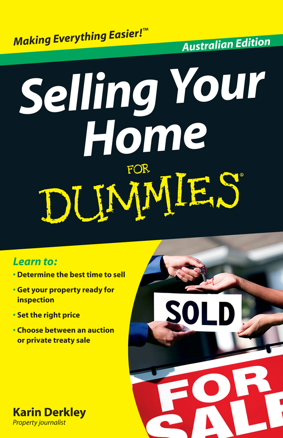 Karin Derkley Selling Your Home For Dummies you choose