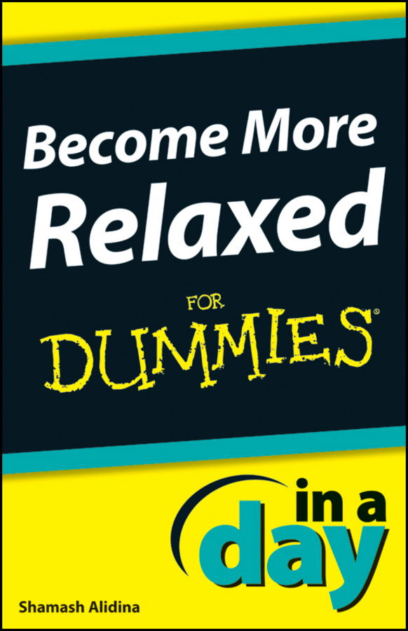 Shamash Alidina Become More Relaxed In A Day For Dummies
