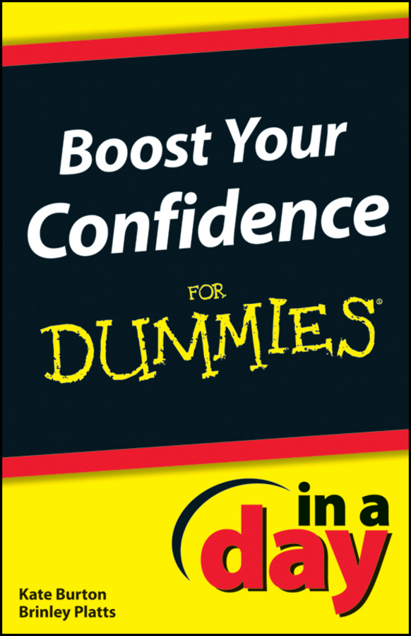 Kate Burton Boost Your Confidence In A Day For Dummies to your taste auto accessories черный деловая одежда