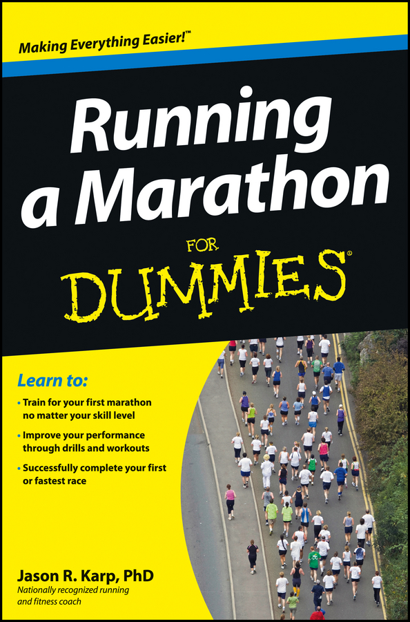 Jason Karp Running a Marathon For Dummies