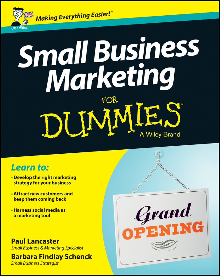 Paul Lancaster Small Business Marketing For Dummies carolyn tate marketing your small business for dummies