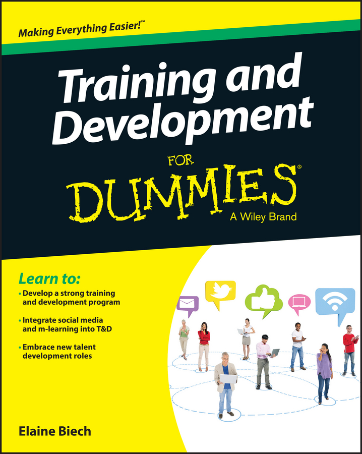 Elaine Biech Training and Development For Dummies preschoolers social development