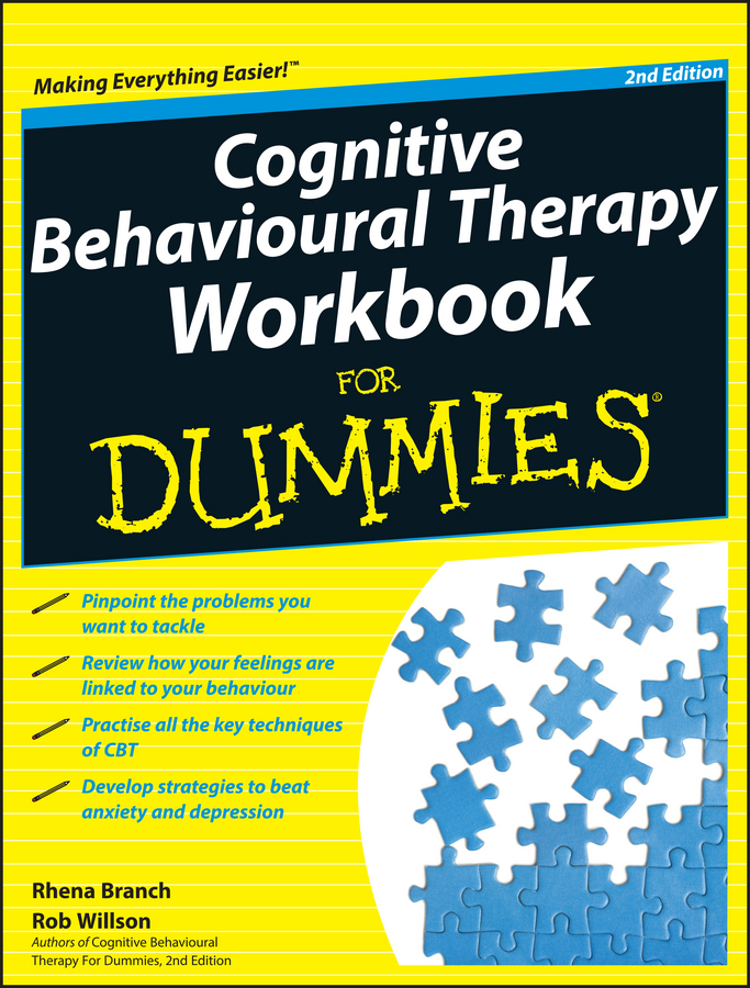 Rob Willson Cognitive Behavioural Therapy Workbook For Dummies