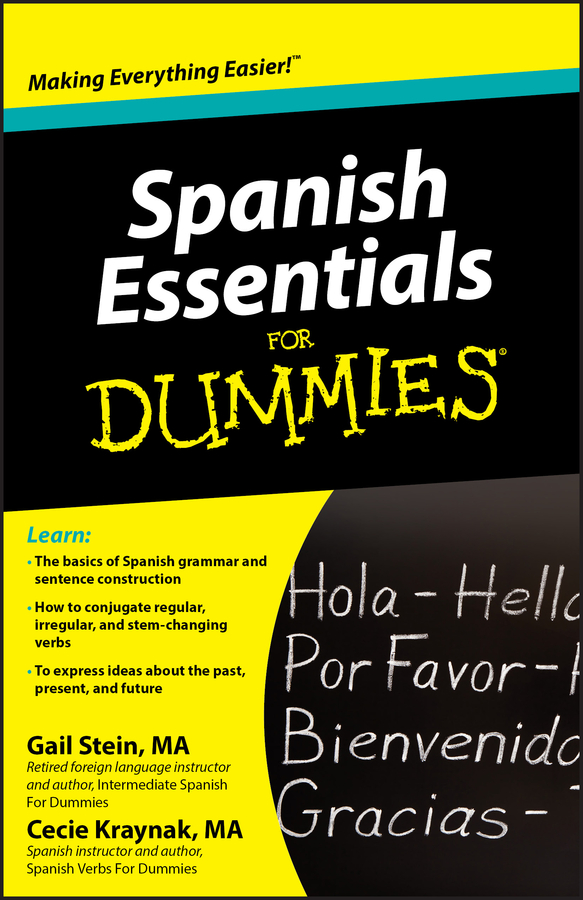 Gail Stein Spanish Essentials For Dummies gail stein spanish essentials for dummies