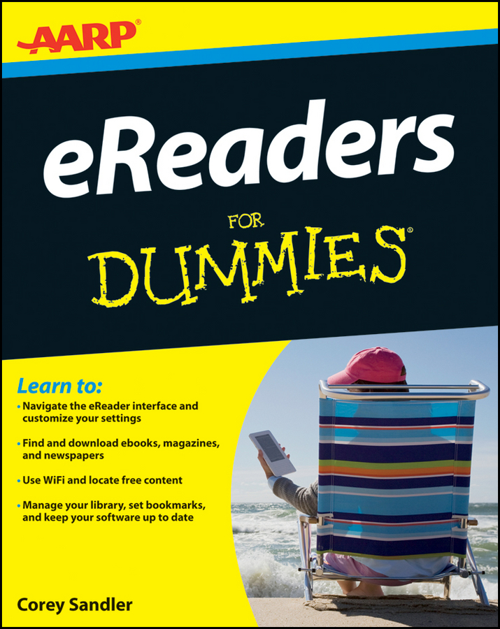 Corey Sandler AARP eReaders For Dummies aarp navigating your later years for dummies