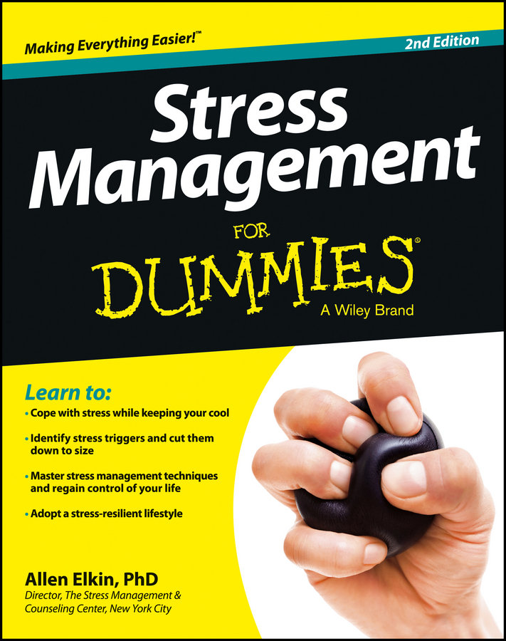 Allen Elkin Stress Management For Dummies цена