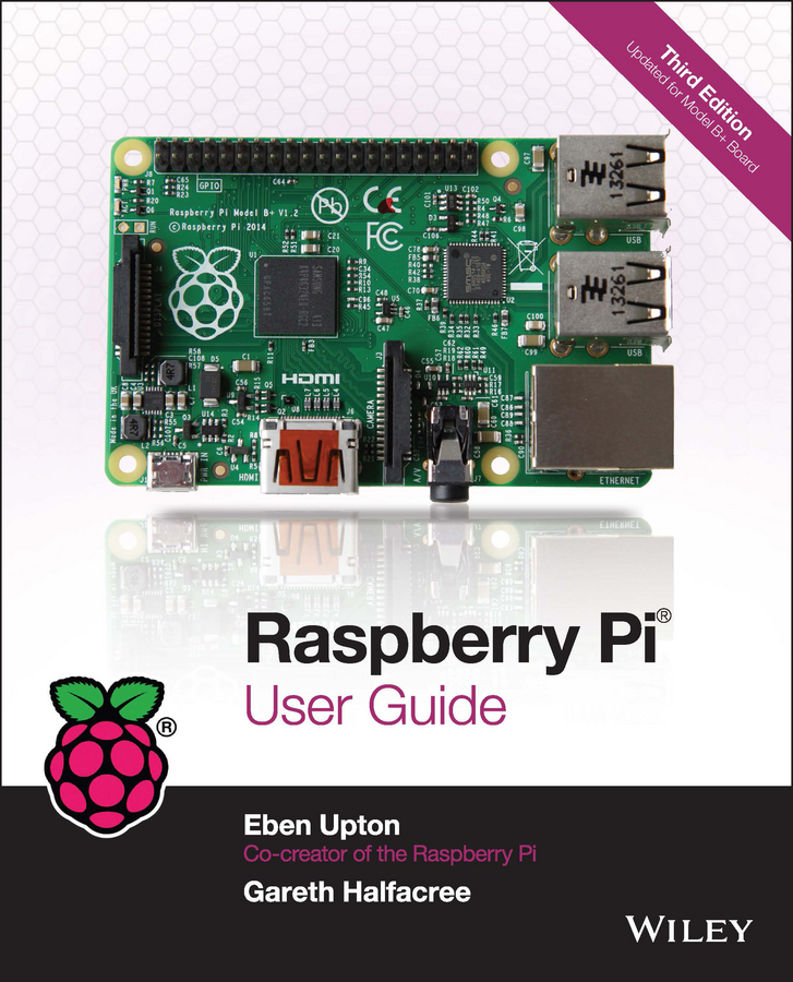 Eben Upton Raspberry Pi User Guide transparent box case g for raspberry pi rpi model b