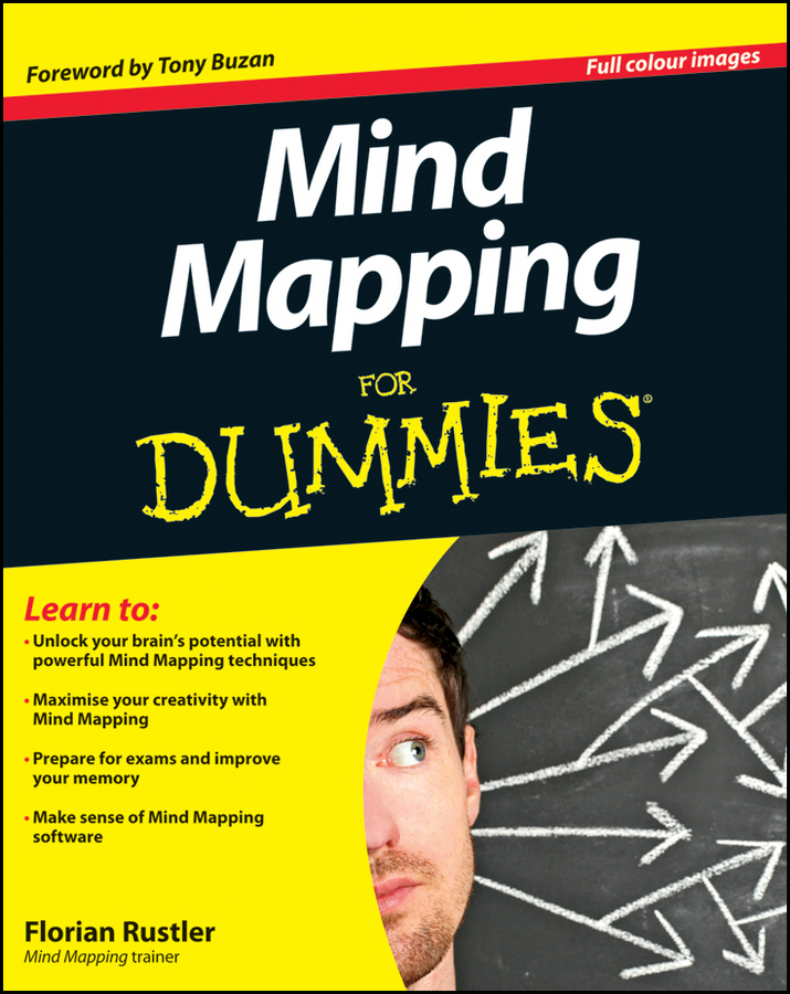 Tony Buzan Mind Mapping For Dummies dark mind