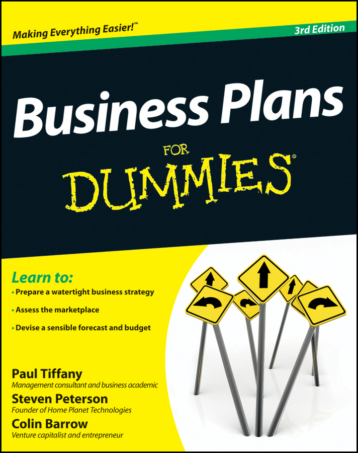 цена Colin Barrow Business Plans For Dummies онлайн в 2017 году