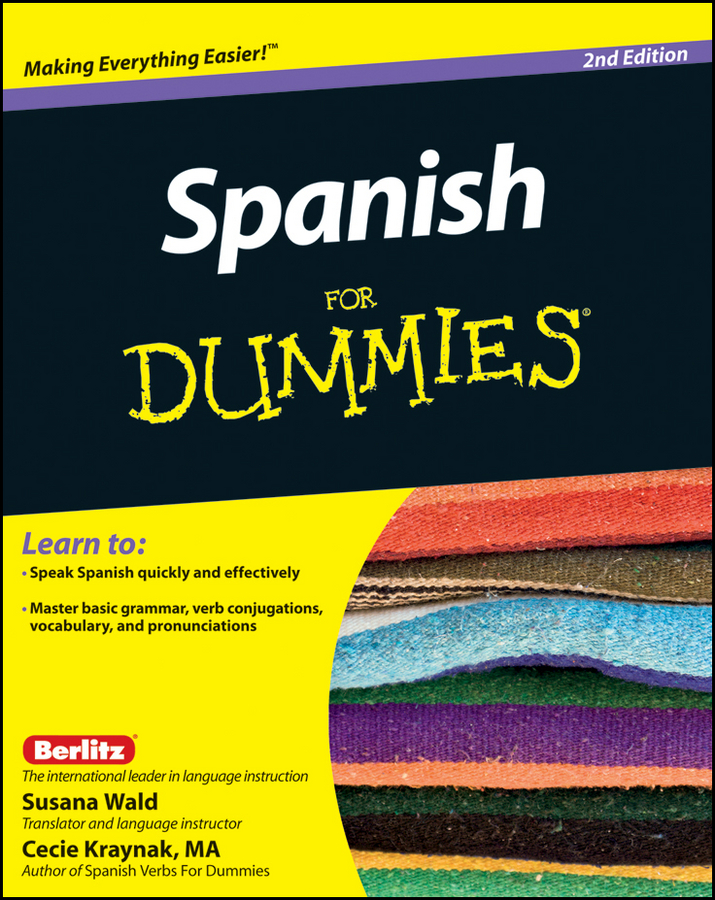 Susana Wald Spanish For Dummies gail stein spanish essentials for dummies