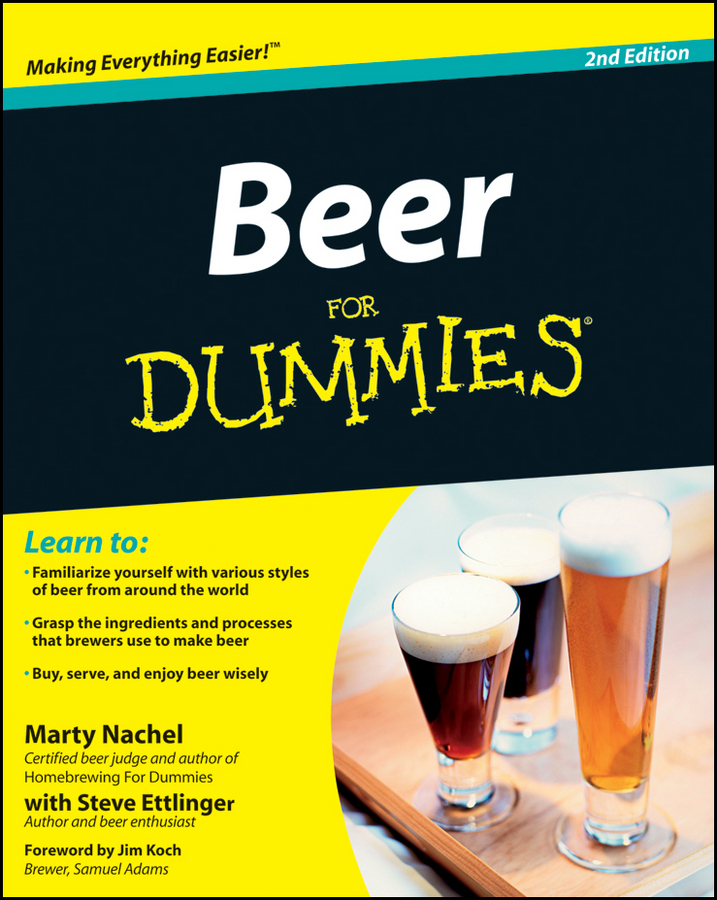 Marty Nachel Beer For Dummies the official german beer guide