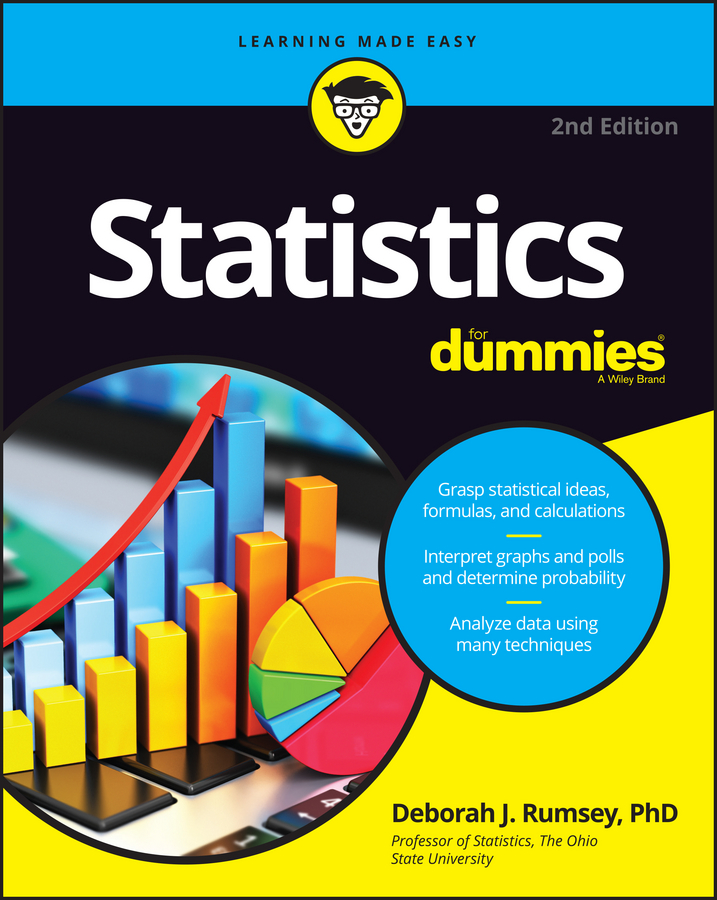 Deborah Rumsey J. Statistics For Dummies alan anderson statistics for big data for dummies