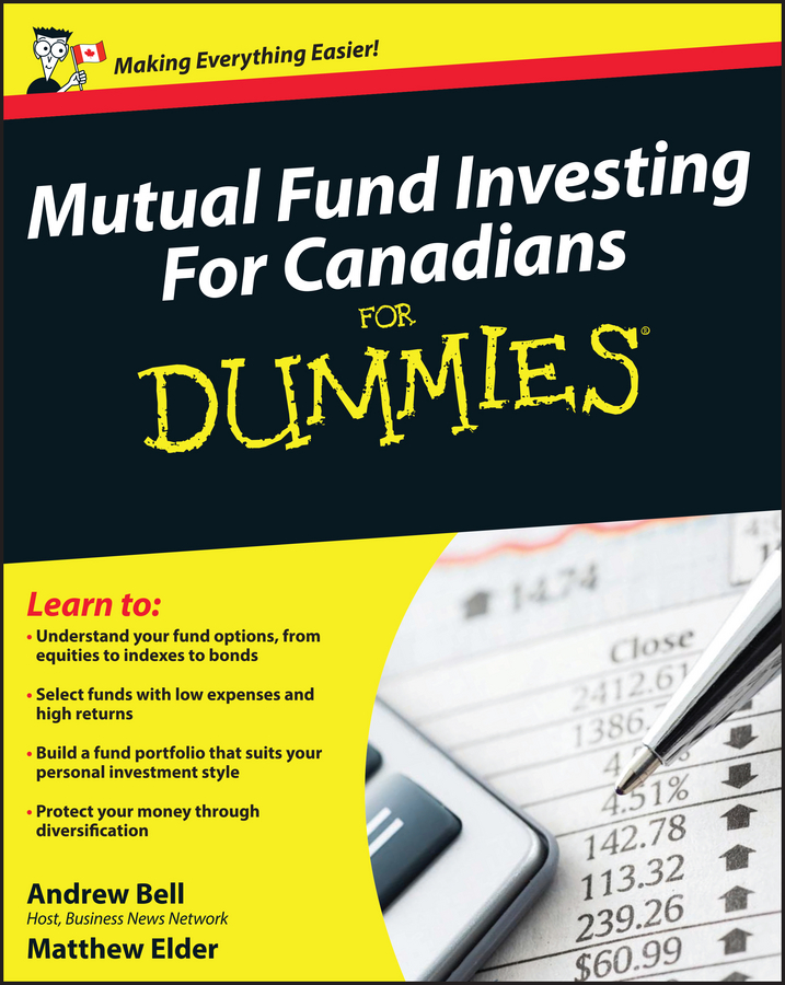 Andrew Bell Mutual Fund Investing For Canadians For Dummies tony martin personal finance for canadians for dummies