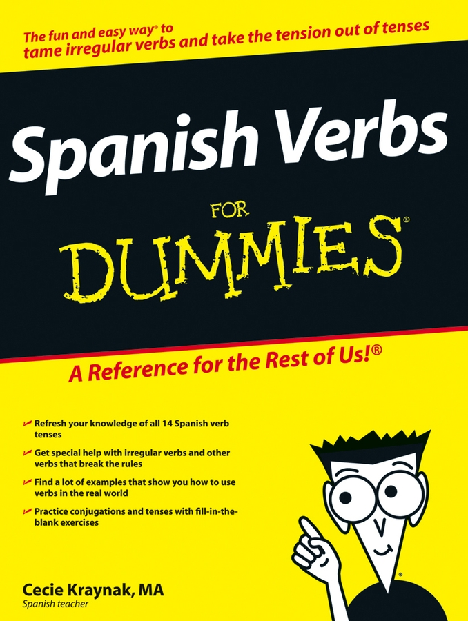 Cecie Kraynak Spanish Verbs For Dummies gail stein spanish essentials for dummies