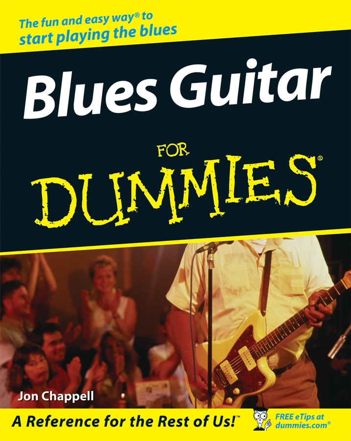 Jon Chappell Blues Guitar For Dummies no name жакет forever 21