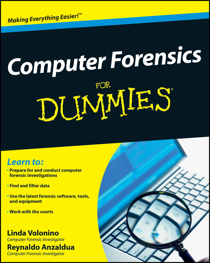 Reynaldo Anzaldua Computer Forensics For Dummies introduction to environmental forensics