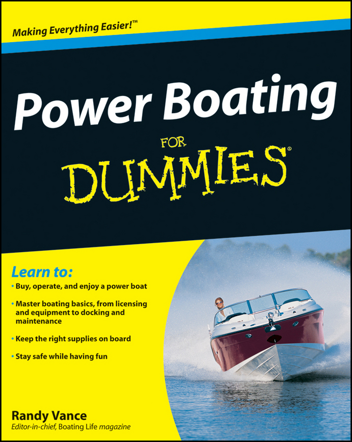 Randy Vance Power Boating For Dummies randy vance power boating for dummies